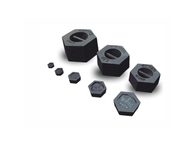 Cast iron test weights